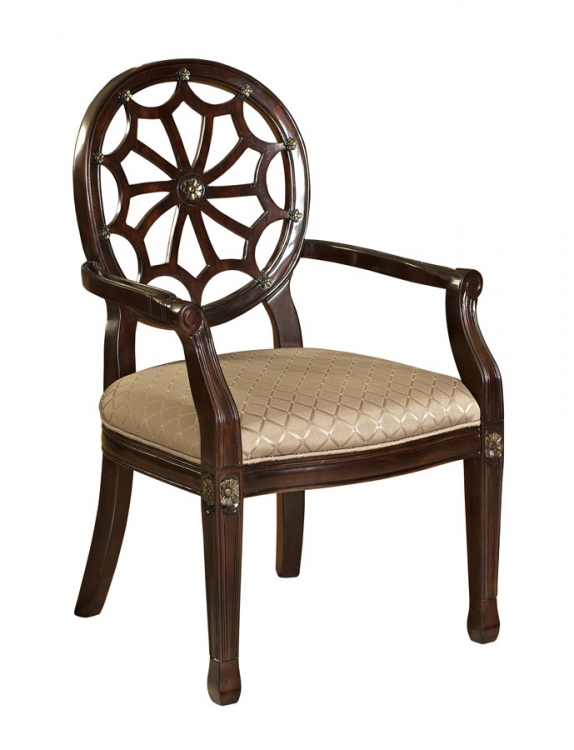 Spider Web Back Accent Chair - Powell