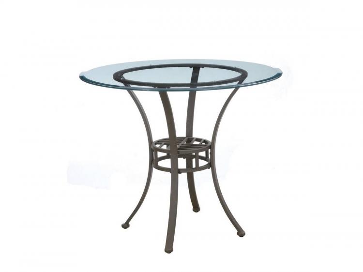 Trent Light Textured Bronze Bistro Dining Table