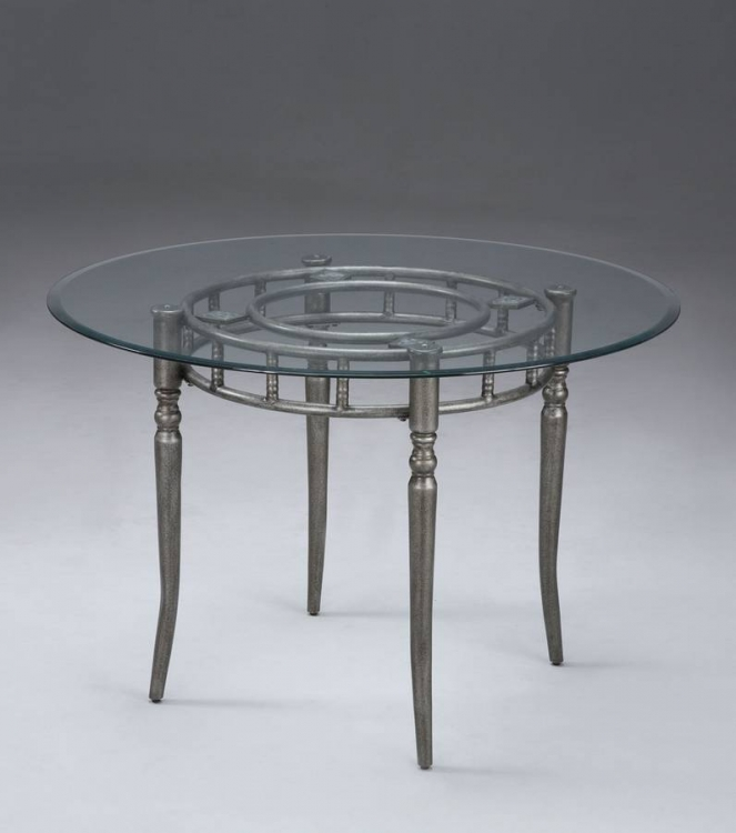Almond Pedestal Dining Table