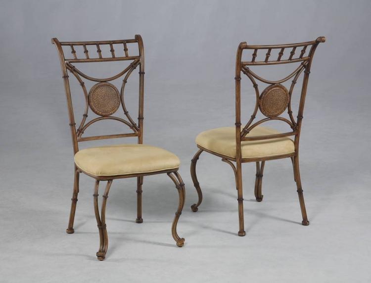 Mango Mangana Brown Bark Dining Side Chair