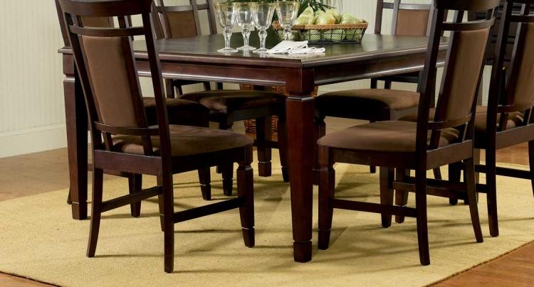 Allspice Espresso Dining Table