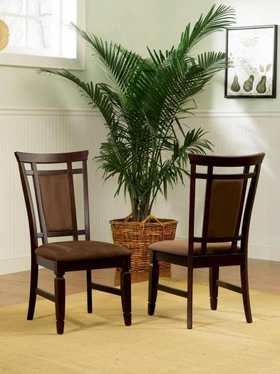 Allspice Espresso Dining Side Chair