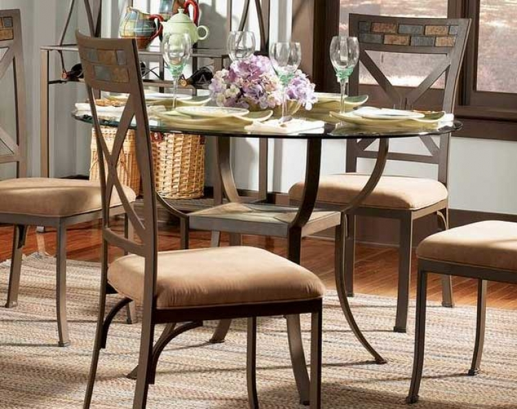 Parsley Pedestal Dining Table