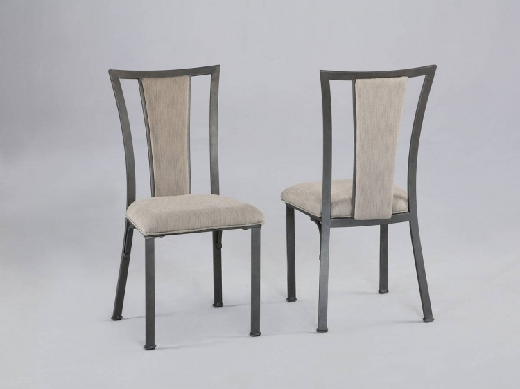 Starmount Dining Side Chair with Upholstered Back Splat