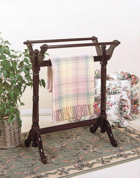 Heirloom Cherry Blanket Rack - Powell