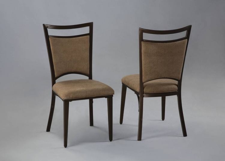 Malibu Satin Medium Bronze Dining Chair