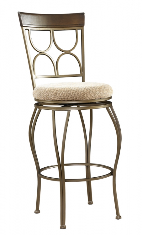 Langley Swivel Bar Stool