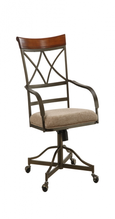 Cherry Hamilton Swivel-Tilt Dining Chair