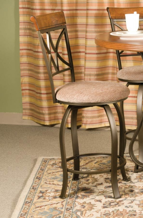 Hamilton Swivel Counter Stool - Powell