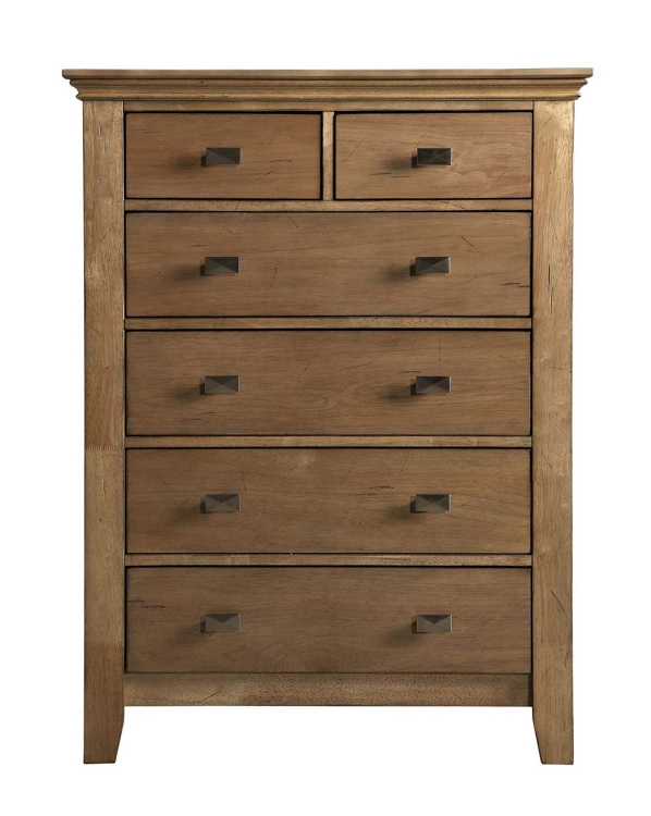 Northbridge 5-Drawer Chest - Champagne - Powell
