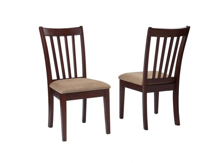 Powell Stonegate Aged Brown Cherry Dining Side Chair