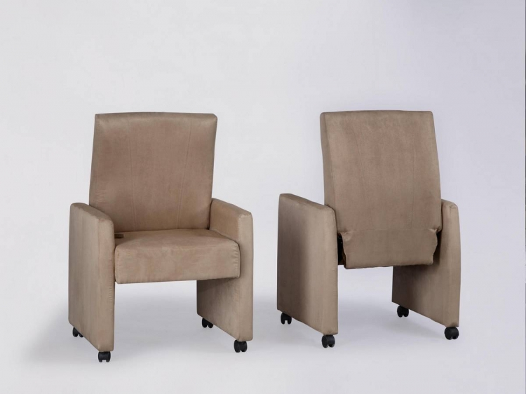 Powell Stonegate Reclining Dining Chair