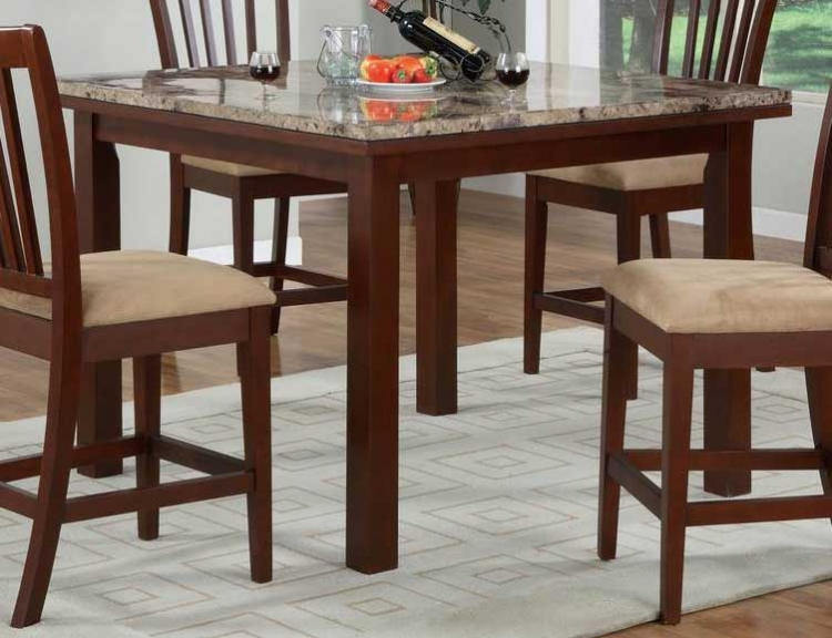Stonegate Aged Brown Cherry Gathering Table