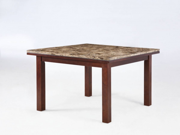 Stonegate Aged Brown Cherry Square Dining Table