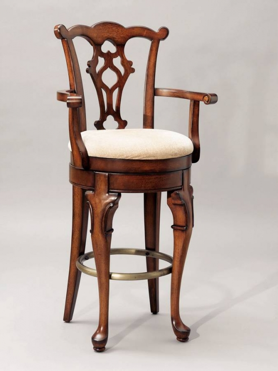 Jamestown Landing Swivel Arm Bar Stool - Powell