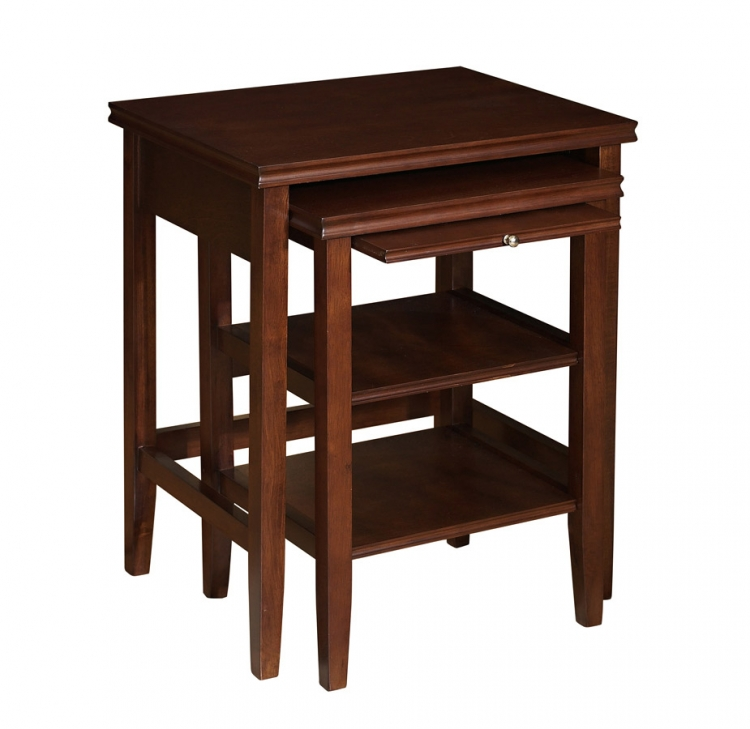 Shelburne Cherry 2 Piece Nested Table