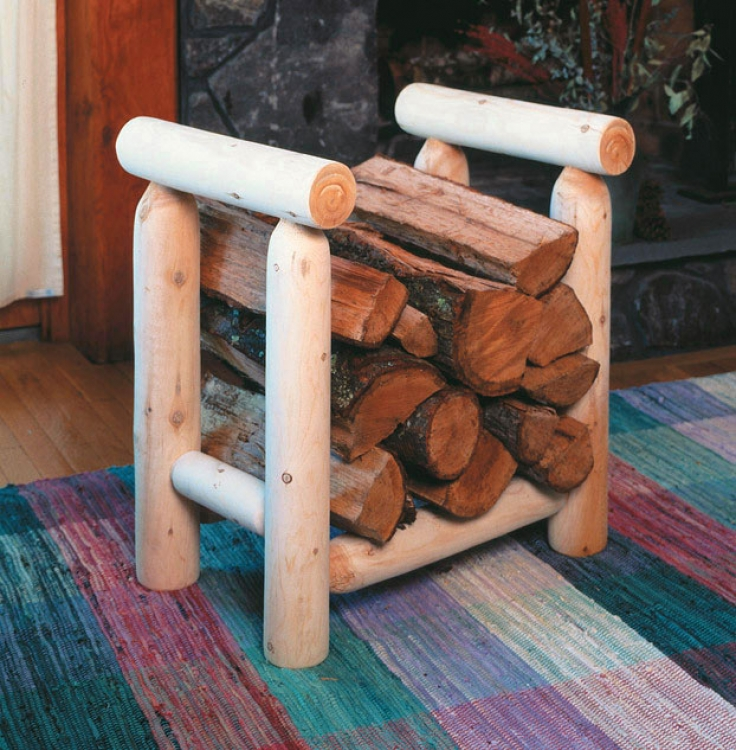 Cedar Looks Firewood 2ft Rack
