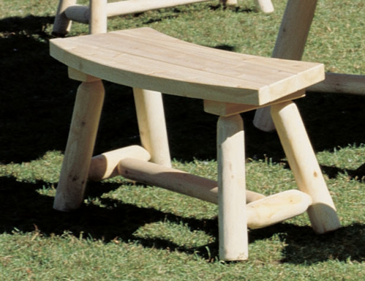 Cedar Looks Round Bench