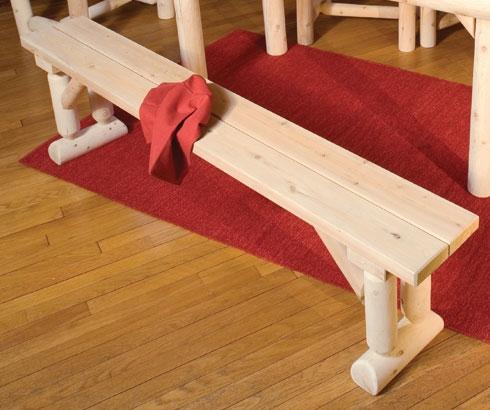 Cedar Looks Dining Bench
