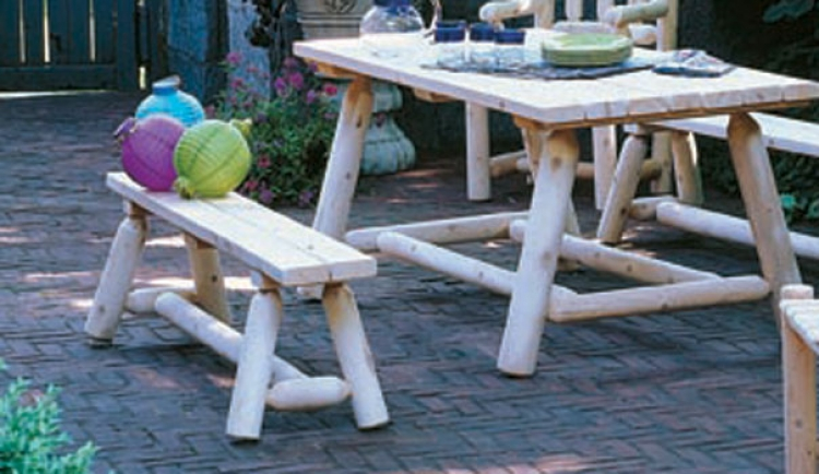 Cedar Looks Picnic Table Set