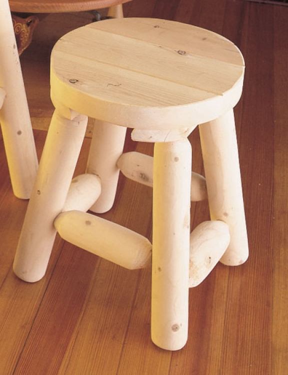 Cedar Looks Bar Stool - 18in