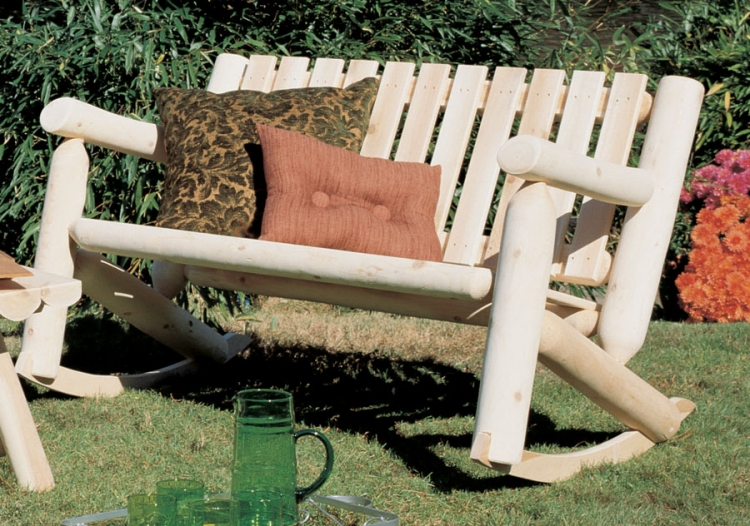 Cedar Looks Double Rocker Settee