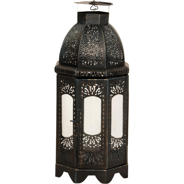 Carriage II Candle holder - Black