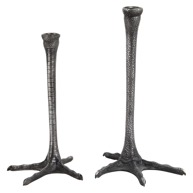 Thornby CandleHolder - Distressed Black
