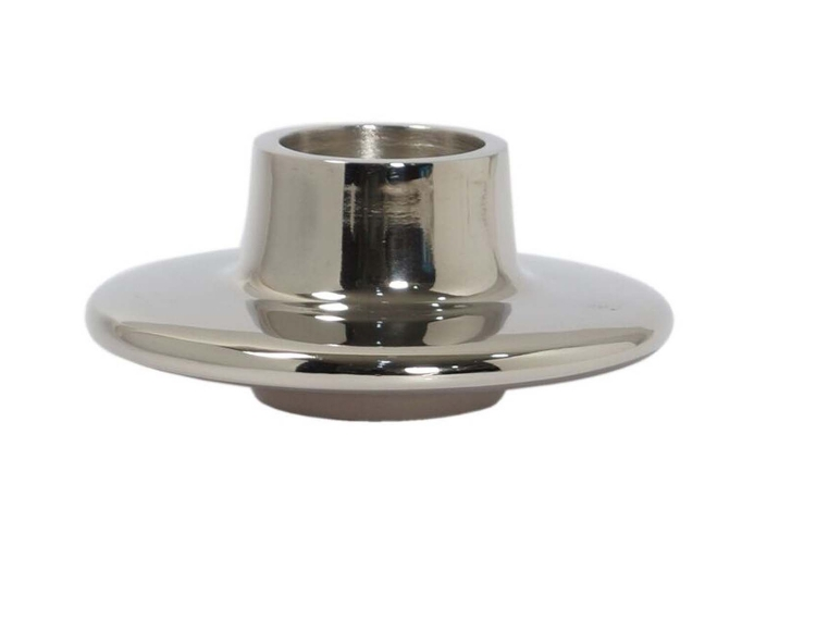 Flesher Candle Holder - Nickel