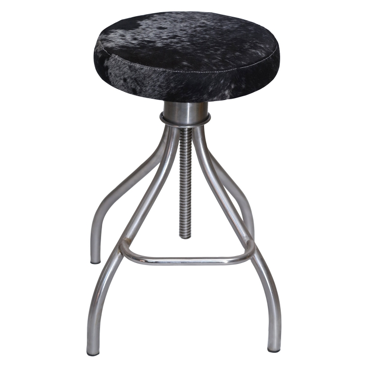 Fairbanks Stool - Nickel Plated