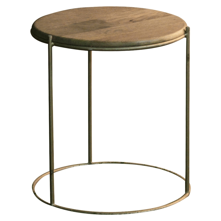 Taylor Stool - Gold/Natural