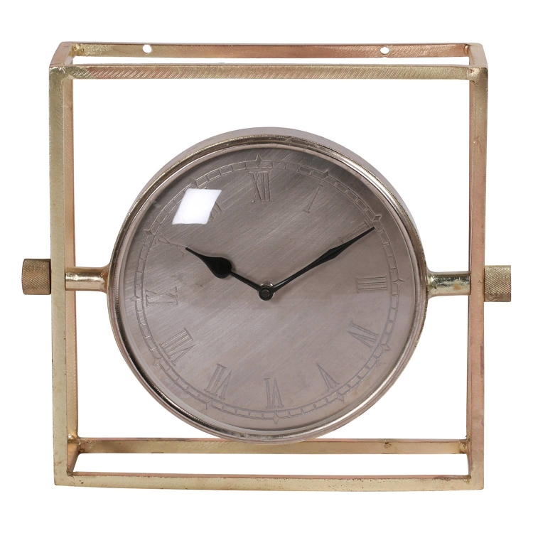 Belfield Clock - Brass Plated