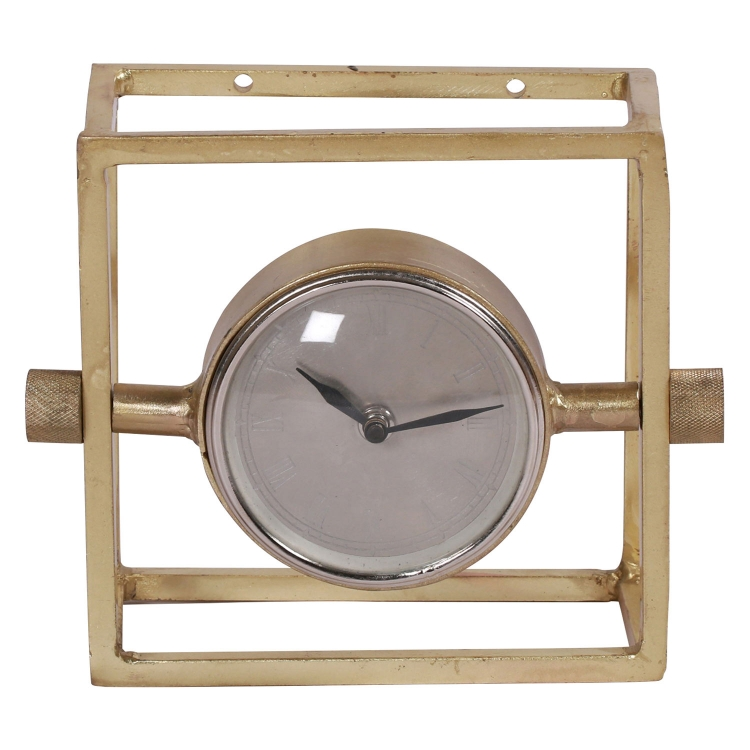 Danforth Clock - Brass Plated