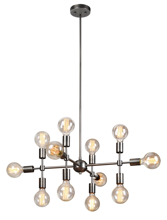 Enzo Ceiling Fixture - Matt Grey