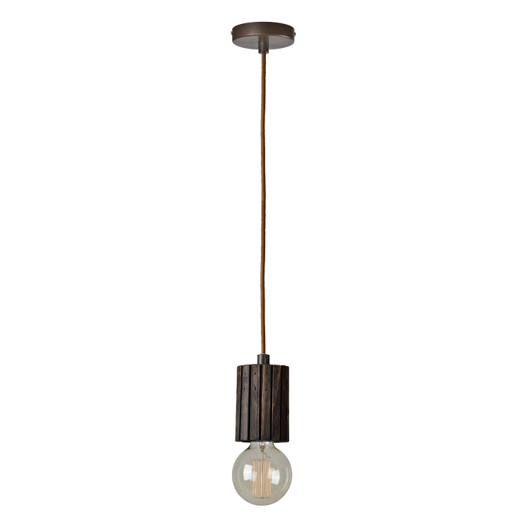 Globe Ceiling Fixture - Dark brown