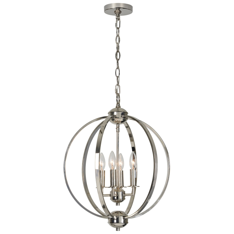 Terry Ceiling Fixture - Polished Nickel