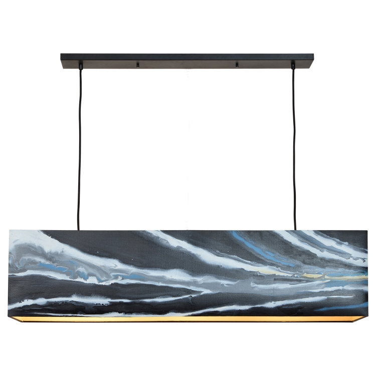 Sandport Ceiling Fixture - Black