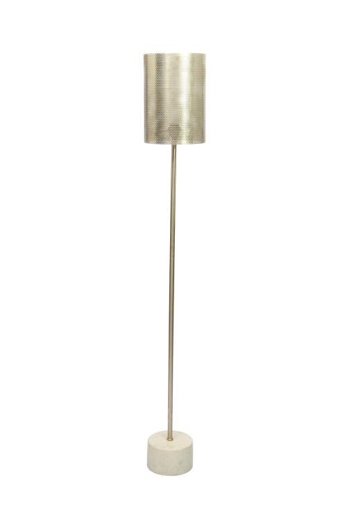 Posture Floor Lamp - Copper Plated