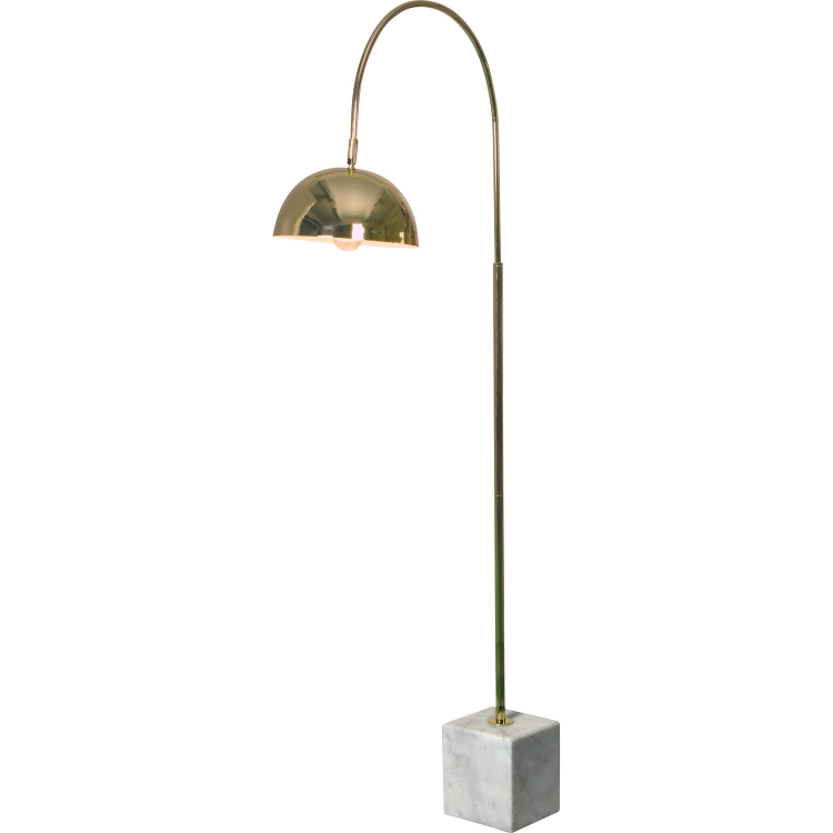 Valdosta Floor Lamp - Polished Brass