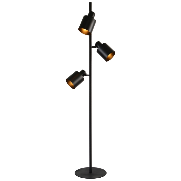 Downfield Floor Lamp - Matte Black