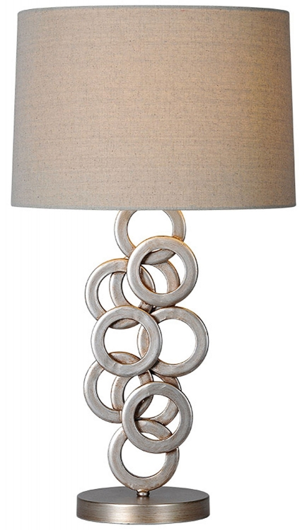 Brunella Table Lamp - Antique Silver