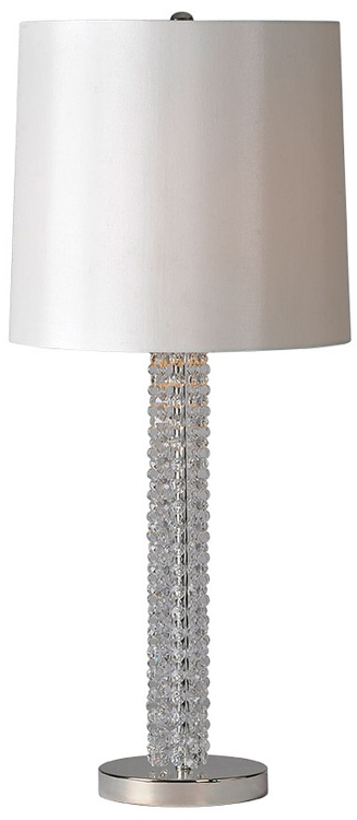 Alanna Table Lamp - Silver Plated
