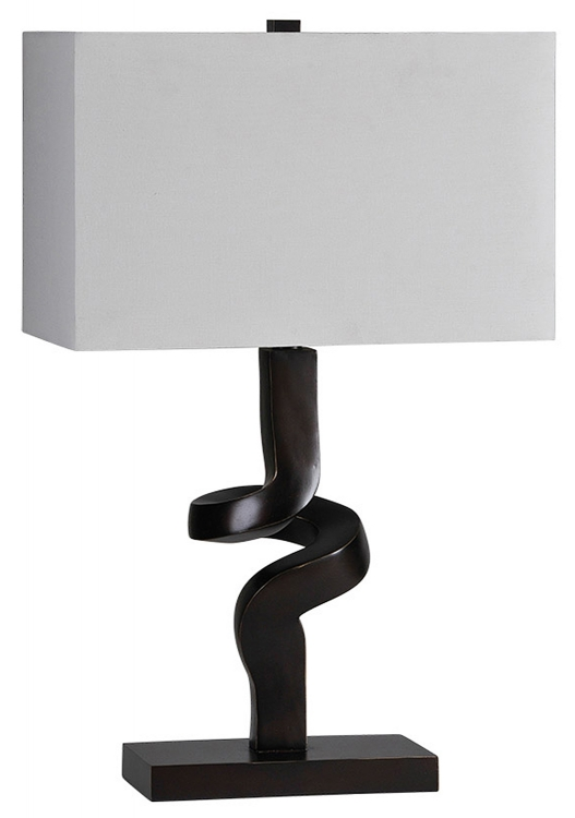 Atara Table Lamp - Black - Ren-Wil