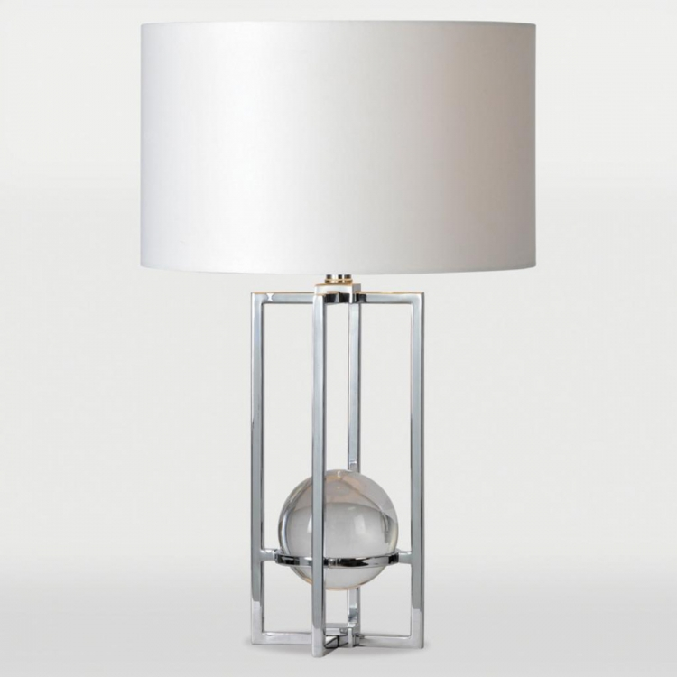Rhodes Table Lamp - Chrome