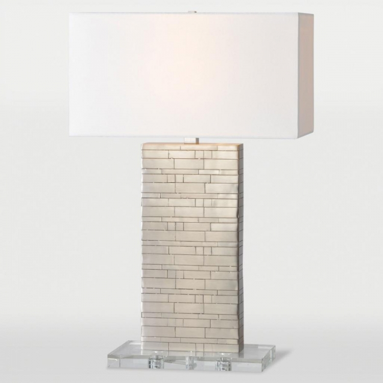 Zagora Table Lamp - Brushed Nickel