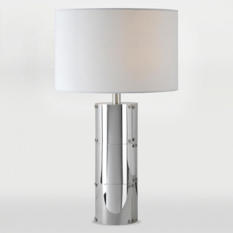 Champlain Table Lamp - Stainless Steel
