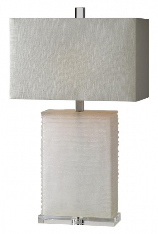 Euler Table Lamp - White sand blast