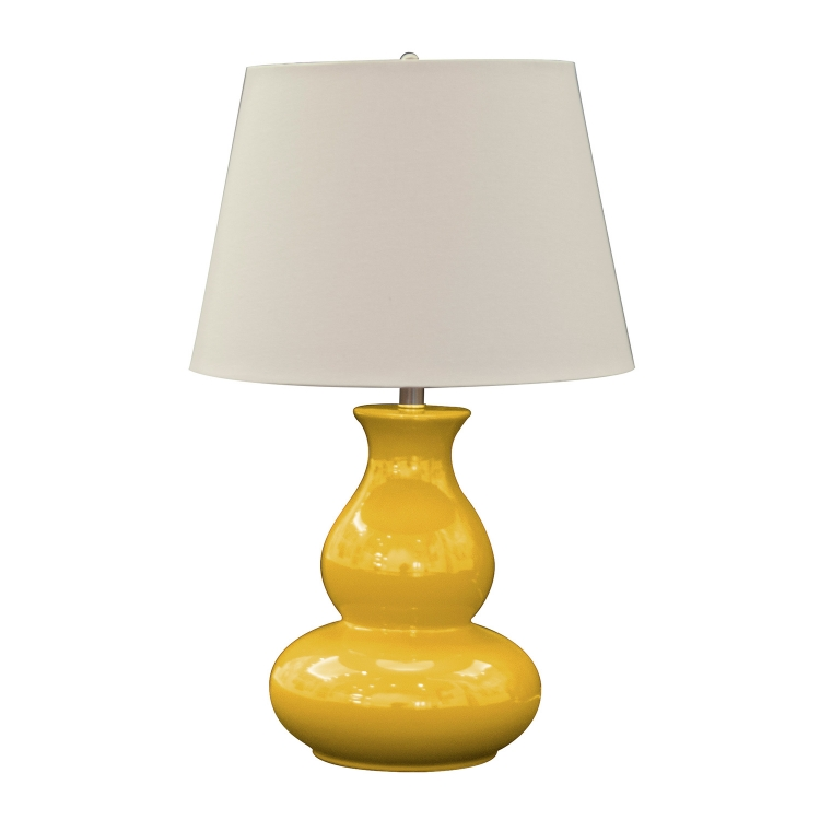 Sunrise Table Lamp - Mustard Yellow