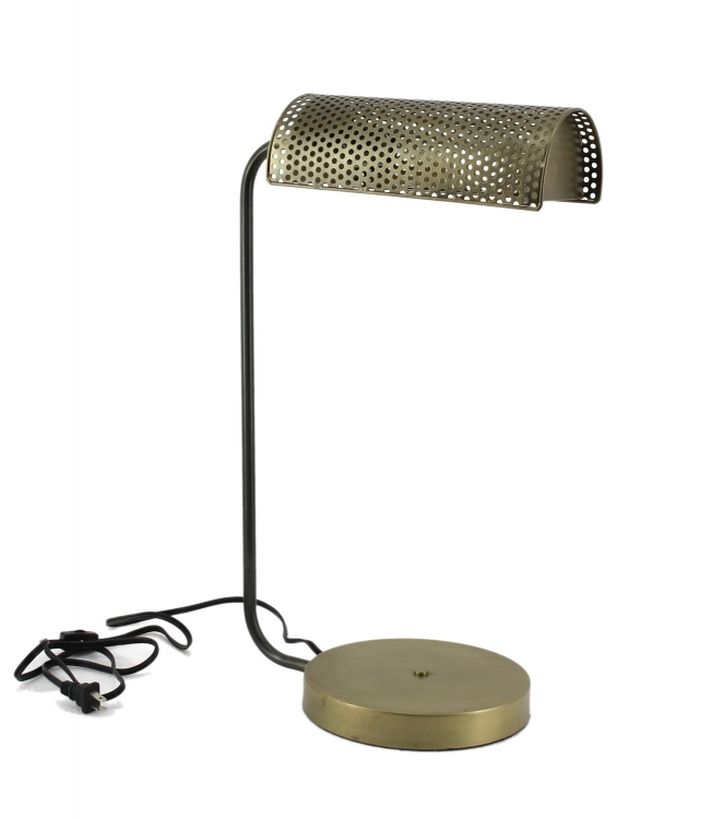 Abagnale Table Lamp - Antique Brass