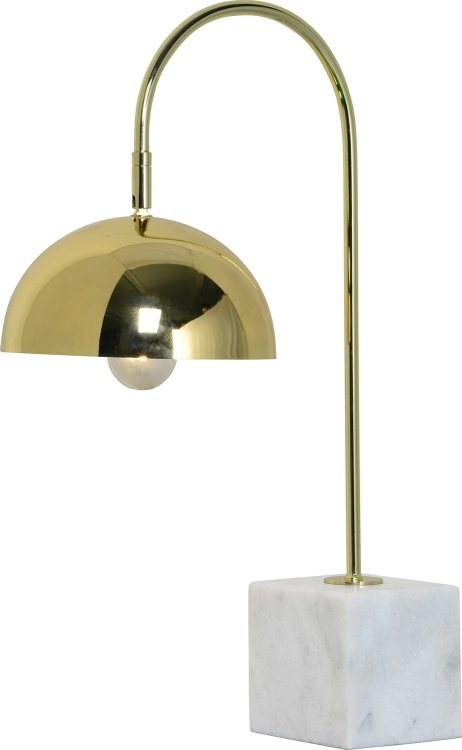 Valdosta Table Lamp - Polished Brass